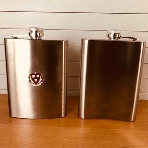 NWT Stainless Steel Harvard University Flask 8 oz